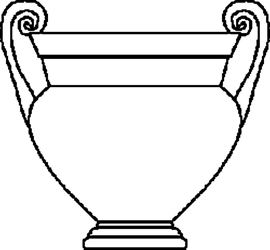 Картинки шаблон ваза