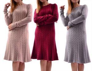 Шерстяные платья фото и картинки 005