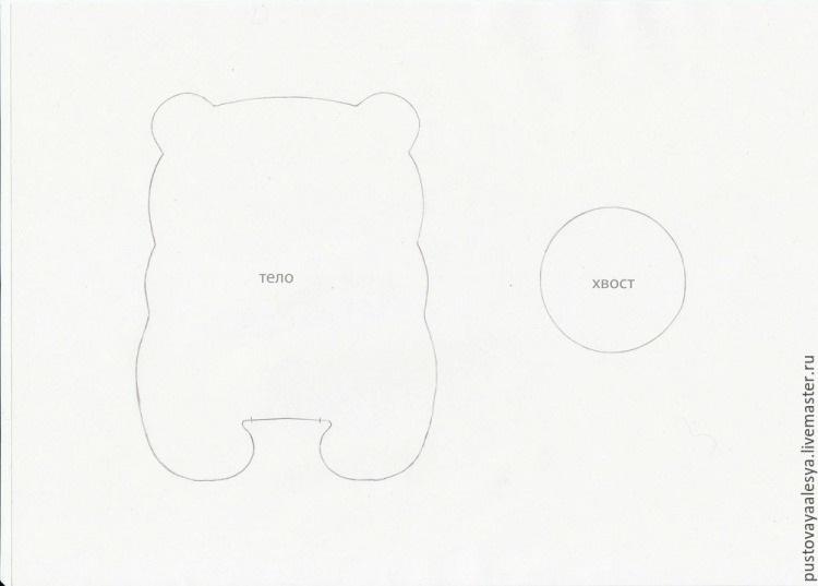 выкройки кофейных игрушек 012