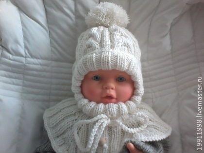 вязаная шапочка для девочки своими руками 001