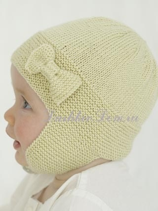 вязаная шапочка для девочки своими руками 002