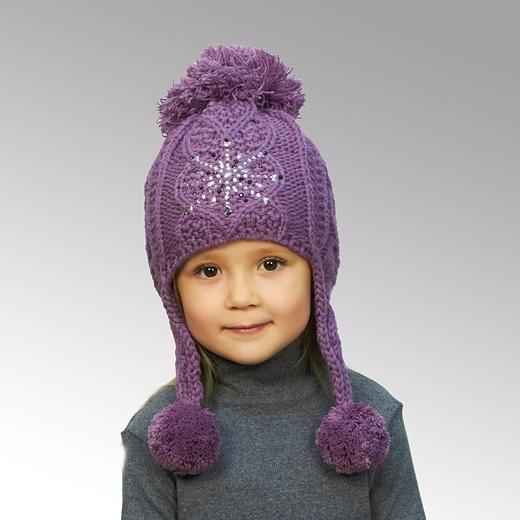 вязаная шапочка для девочки своими руками 005