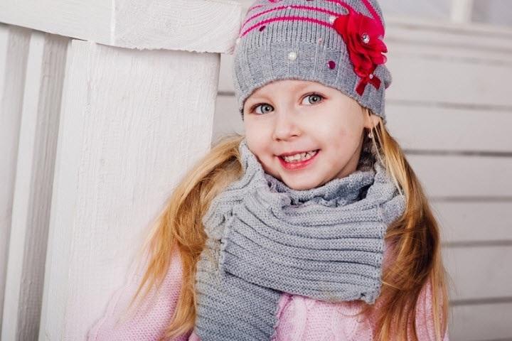 вязаная шапочка для девочки своими руками 013