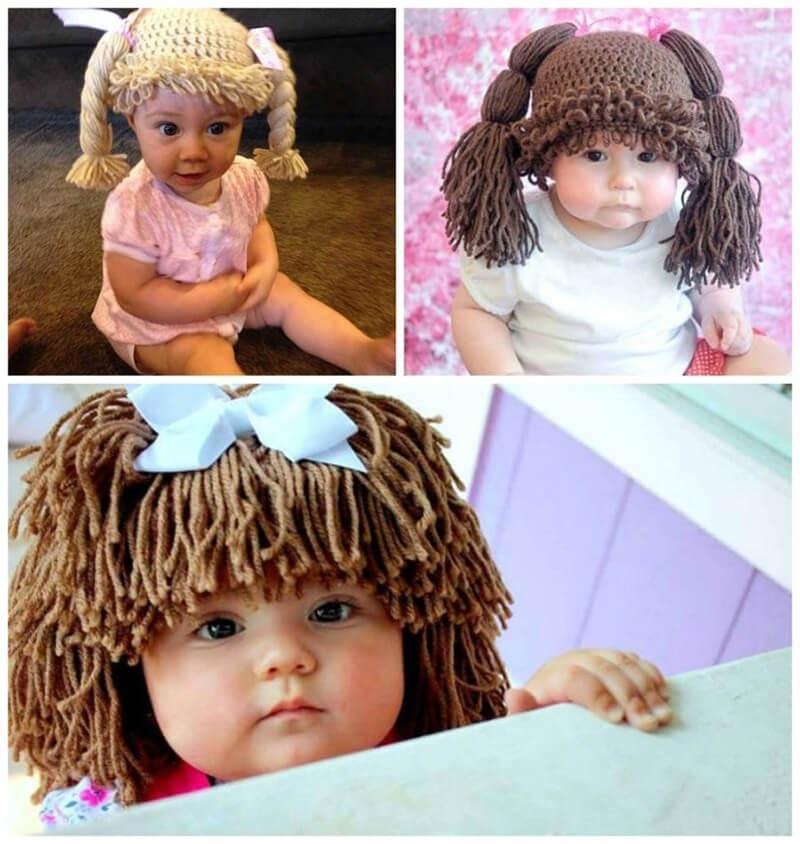вязаная шапочка для девочки своими руками 021
