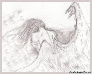 картинки ангелы карандашом 008