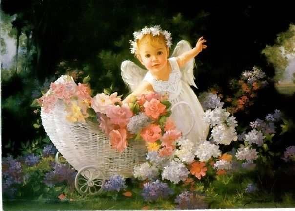картинки дети ангелочки 008