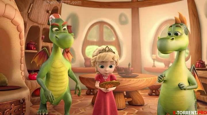 картинки принцесса и дракон 002