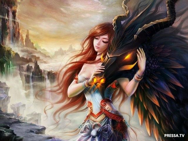 картинки принцесса и дракон 006