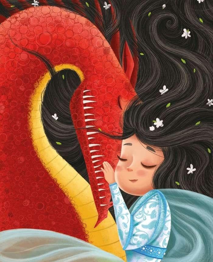 картинки принцесса и дракон 013