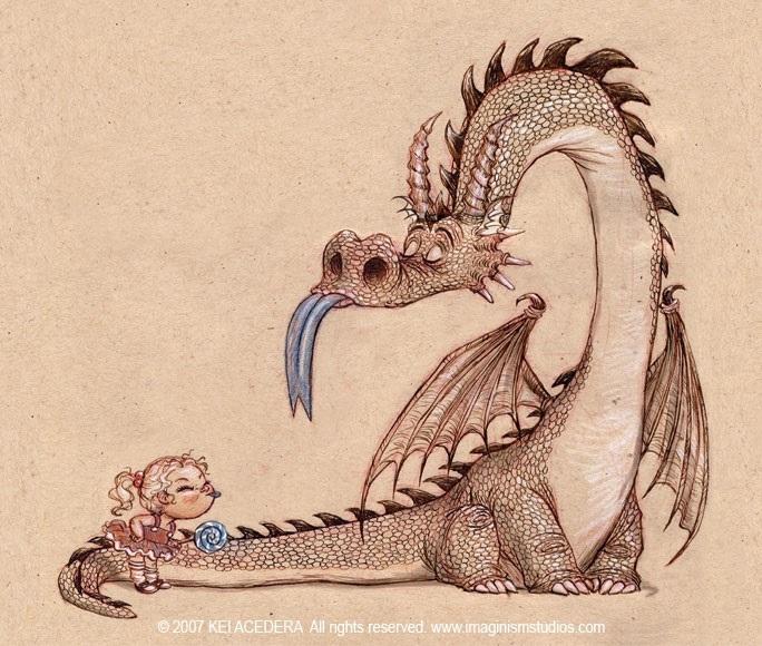 картинки принцесса и дракон 014