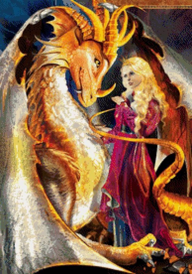 картинки принцесса и дракон 018