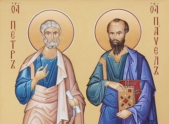 12 июля День первоверховных апостолов Петра и Павла 001