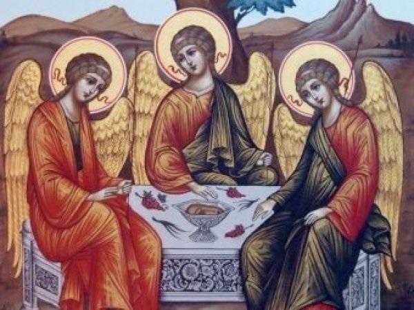 50 й день после Пасхи Троица (День Святой Троицы, Пятидесятница) 005