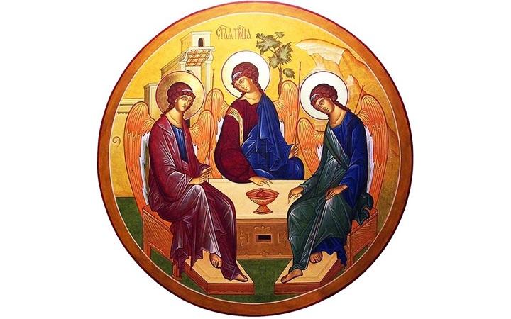 50 й день после Пасхи Троица (День Святой Троицы, Пятидесятница) 008