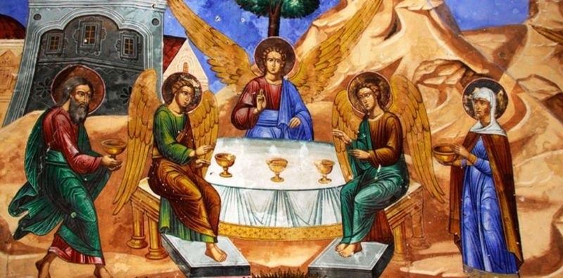 50 й день после Пасхи Троица (День Святой Троицы, Пятидесятница) 010