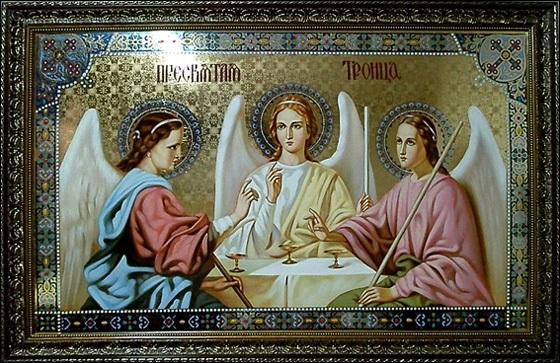 50 й день после Пасхи Троица (День Святой Троицы, Пятидесятница) 015