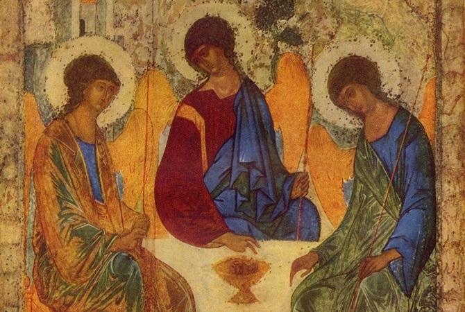 50 й день после Пасхи Троица (День Святой Троицы, Пятидесятница) 017