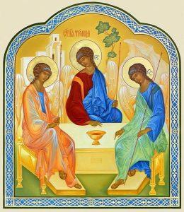 50 й день после Пасхи Троица (День Святой Троицы, Пятидесятница) 018