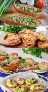 Вкусные бутерброды для вечеринки 022
