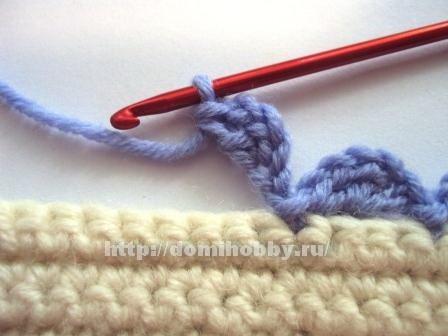 Вязание пико спицами 021