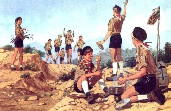 В Англии организован первый скаутский отряд (1907) 009