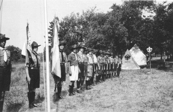 В Англии организован первый скаутский отряд (1907) 010