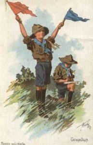 В Англии организован первый скаутский отряд (1907) 022