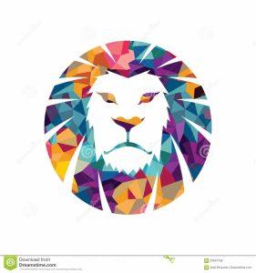 Графическое изображение льва 021