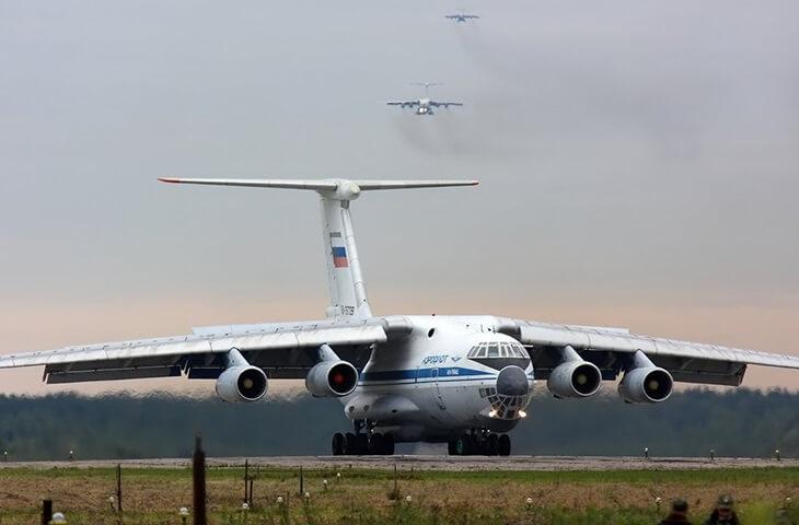 День Военно Транспортной Авиации ВВС России 012