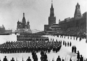 День военного парада на Красной площади 1941 года 020