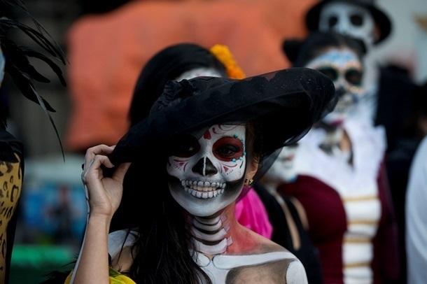 День мёртвых (Мексика)   красивая открытка 020