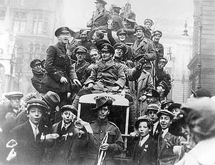 День окончания первой мировой войны 011
