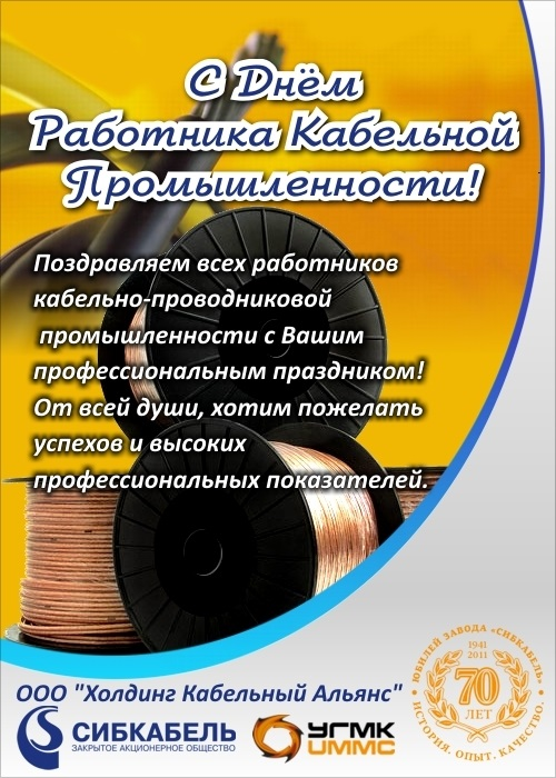 День работника кабельной промышленности 016