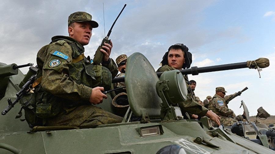 День российского военного миротворца 007