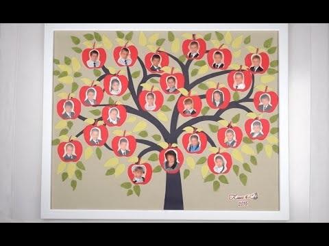 Дерево на день учителя своими руками 004