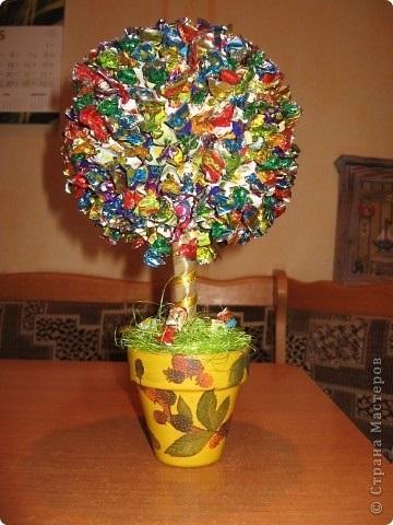 Дерево на день учителя своими руками 012