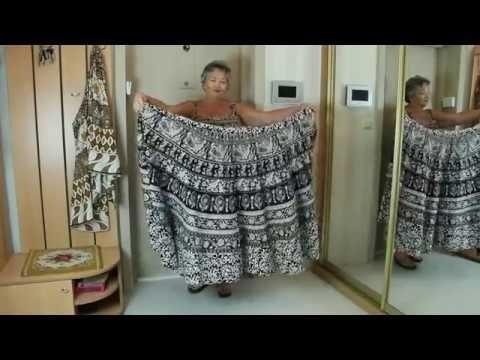 Детский сарафан из старой юбки 019