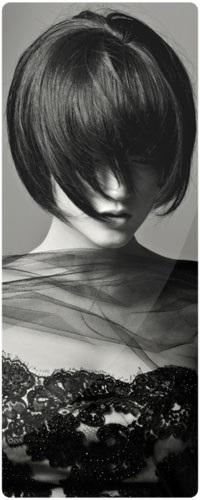 Картинки брюнеток со спины на аватарку с короткой стрижкой005
