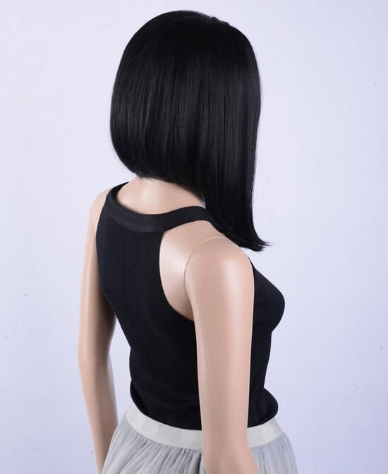 Картинки брюнеток со спины на аватарку с короткой стрижкой011