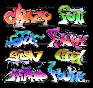 Картинки граффити рисунки 016