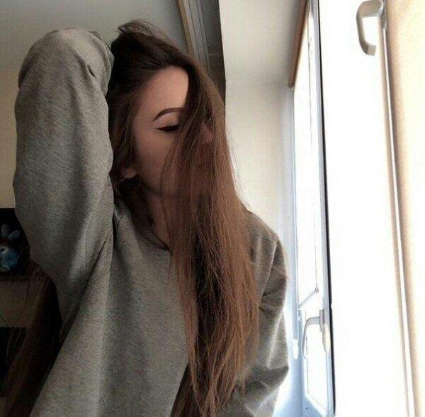 Картинки девушек на аватарку без лица со светлыми волосами017
