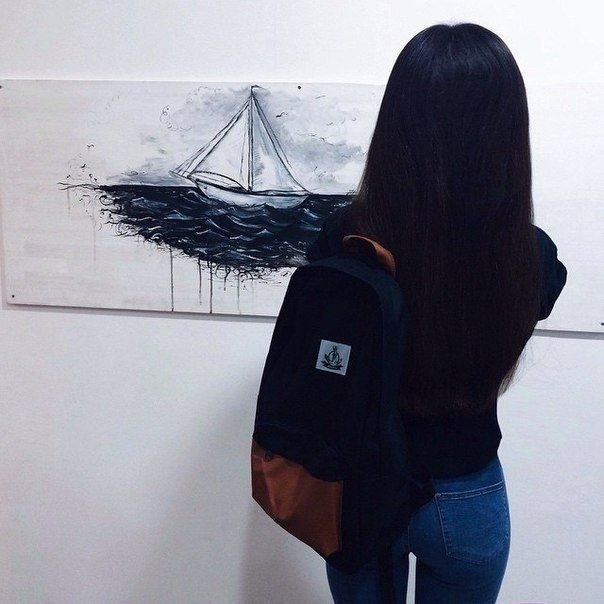 Картинки девушек на аватарку без лица с черными волосами010