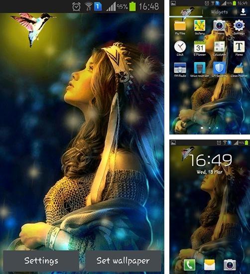 Картинки девушек на телефон андроид скачать бесплатно011