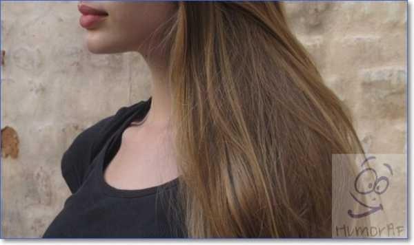 Картинки на аватарку девушка с русыми волосами без лица003