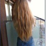 Картинки на аватарку девушка с русыми волосами без лица