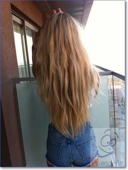 Картинки на аватарку девушка с русыми волосами без лица011