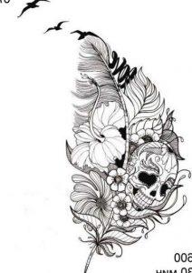 Картинки на белом фоне татуировки014