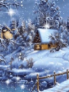 Красивые заставки на телефон зима скачать бесплатно011