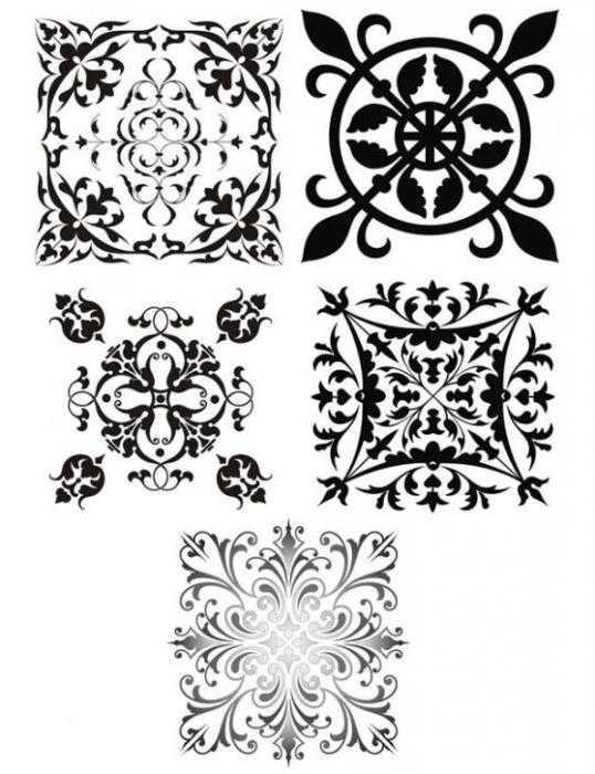 Красивые узоры симметричные картинки008