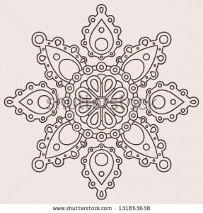 Красивые узоры симметричные картинки010